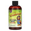 Vitables, 子ども用液体マルチビタミン&ミネラル、アルコール無添加、オレンジマンゴー味、237ml(8液量オンス)