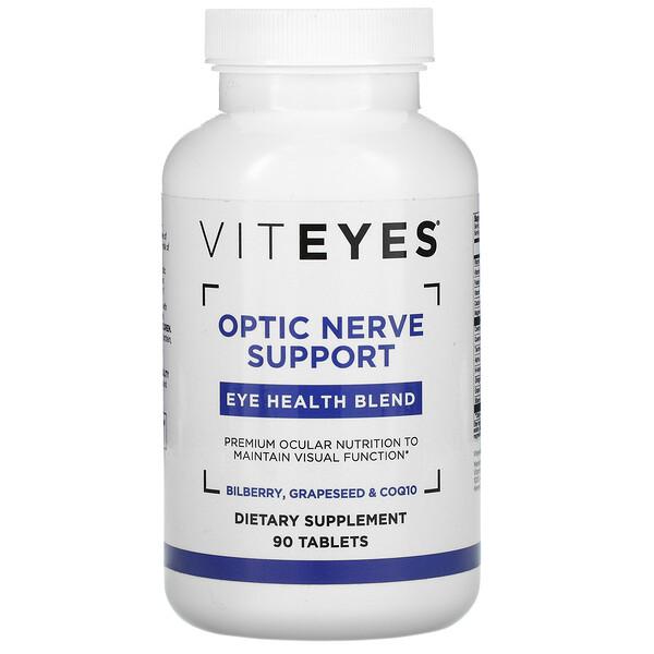 Optic Nerve Support, Eye Health Blend, 90 Tablets