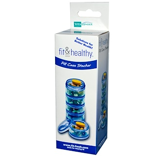 Vitaminder, Fit & Healthy, Pill Case Stacker