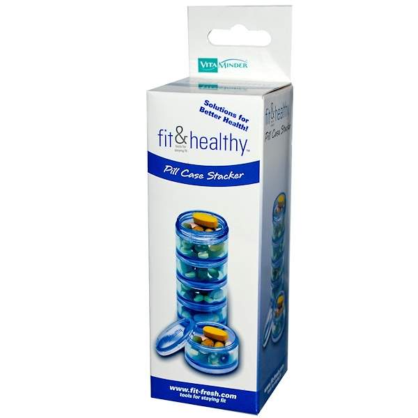 Vitaminder, Fit & Healthy, Pill Case Stacker (Discontinued Item)