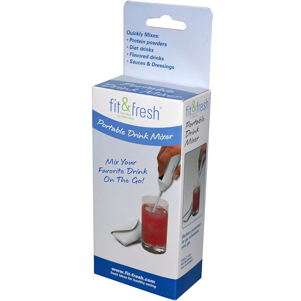 Vitaminder, Fit & Fresh, Portable Drink Mixer (Discontinued Item)