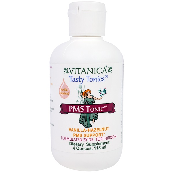 Vitanica, PMS Tonic, Vanilla Hazelnut, 4 oz (118 ml) (Discontinued Item)