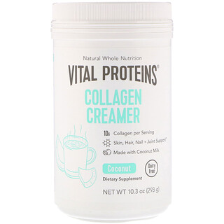 Vital Proteins, Collagen Creamer, Coconut, 10.3 oz (293 g)