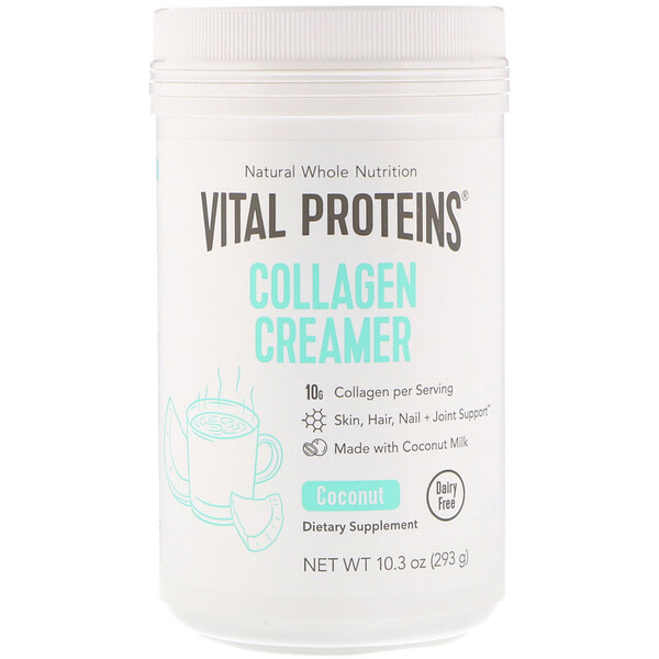 Collagen Creamer, Coconut, 10.3 oz (293 g)
