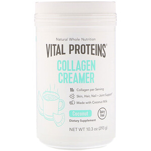 Витал Потеинс, Collagen Creamer, Coconut, 10.3 oz (293 g) отзывы покупателей
