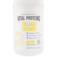 Vital Proteins, Collagen Creamer, Vanilla, 10.6 oz (305 g) - фото