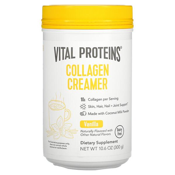 Collagen Creamer, Vanilla, 10.6 oz (300 g)