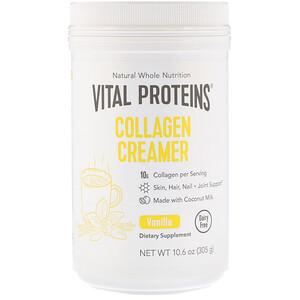 Витал Потеинс, Collagen Creamer, Vanilla, 10.6 oz (305 g) отзывы