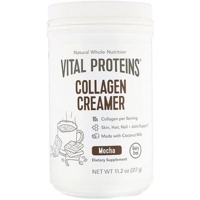 Купить Vital Proteins Коллагеновая кремовая добавка, мокко, 317г (11, 2унции)