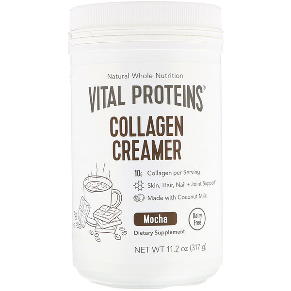 Vital Proteins, Collagen Creamer, Mocha, 11.2 oz (317 g)