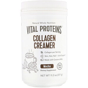 Vital Proteins, Collagen Creamer, Mocha, 11.2 oz (317 g)
