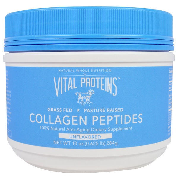 Vital Proteins, Collagen Peptides, Unflavored, 10 oz (284 g)