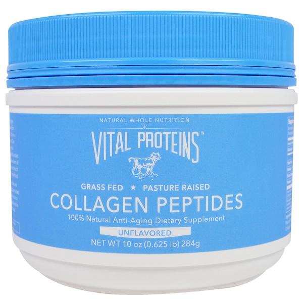 Vital Proteins, Collagen Peptides, Unflavored, 10 oz (284 g)