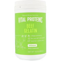 Vital Proteins, Gelatina de res, sin sabor, 16.4 oz (465 g)