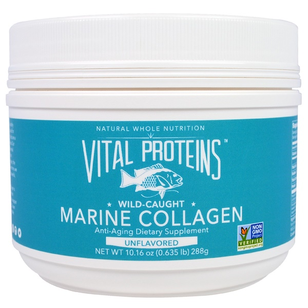 Vital Proteins, Collagène marin, Capturé à l'état sauvage, Nature, 10,16 oz (288 g) (Discontinued Item)