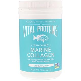Vital Proteins, Морской коллаген, Выловлено в диких условиях, Без ароматизаторов, 7,8 унц. (221 г)