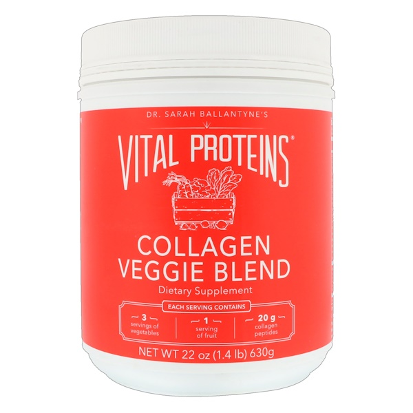 Vital Proteins, Collagen Veggie Blend, 22 oz (630 g) (Discontinued Item)