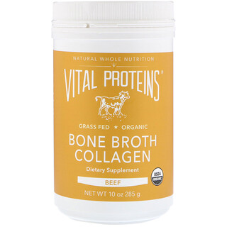 Vital Proteins, Bio, bouillon d'os, collagène, boeuf, 285 g (10 oz)