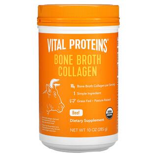 Vital Proteins, Collagène de bouillon d'os de bœuf, 285g