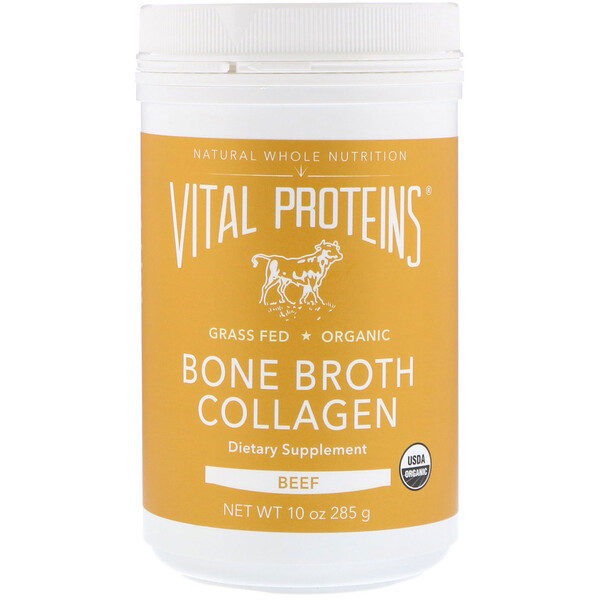 Vital Proteins, Bone Broth Collagen, Beef, 10 oz (285 g)