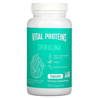 Vital Proteins, Спирулина, 650мг, 120капсул