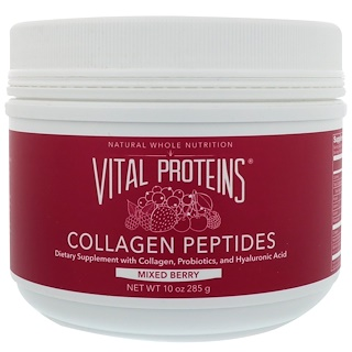 Vital Proteins, Collagen Peptides, Mixed Berry, 10 oz (285 g)