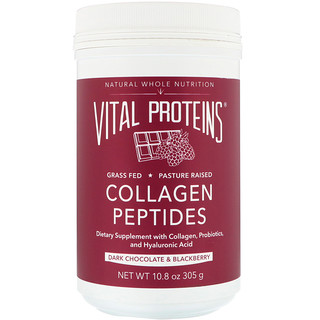 Vital Proteins, Collagen Peptides, Dark Chocolate & Blackberry, 10.8 oz (305 g)