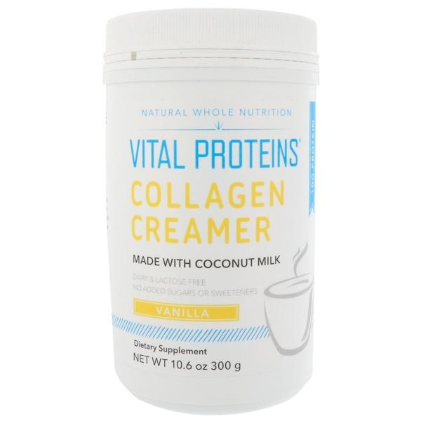 Vital Proteins, Collagen Creamer, Vanilla, 10.6 oz (300 g) (Discontinued Item)