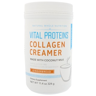 Vital Proteins, Collagen Creamer, Gingerbread, 11.4 oz (324 g)