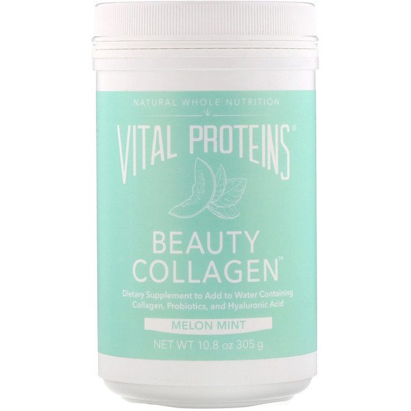 Vital Proteins, Beauty Collagen، البطيخ بالنعناع، 10.8 أونصة (305 جم) (Discontinued Item)
