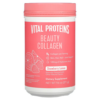 Vital Proteins, Beauty Collagen, Strawberry Lemon, 9.6 oz (271 g)