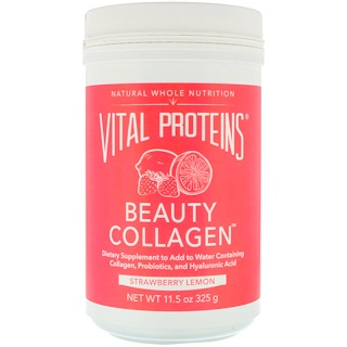 Vital Proteins, Beauty Collagen, Strawberry Lemon, 11.5 oz (325 g)