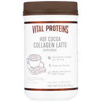 Vital Proteins, Collagen Latte, Hot Cocoa, 12.5 oz (355 g)