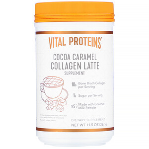 Vital Proteins, Collagen Latte, Cocoa Caramel, 11.5 oz (327 g)