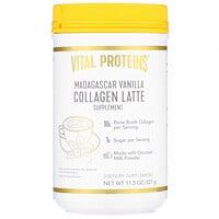 Vital Proteins, Collagen Latte, Madagascar Vanilla, 11.5 oz (327 g)