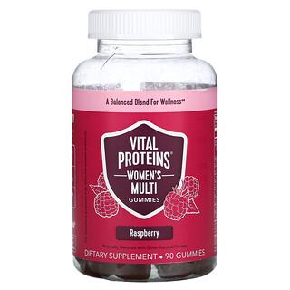 Vital Proteins, Women's Multi Gummies, Raspberry, 90 Gummies