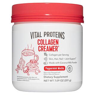 Vital Proteins, Collagen Creamer, Peppermint Mocha, 7.09 oz (201 g)