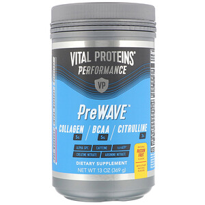 Vital Proteins, Performance, PreWave, Natural Passion Fruit, 13 oz (369 g)