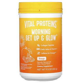 Vital Proteins, 清晨起床闪耀,橙子,9.3 盎司(265 克)