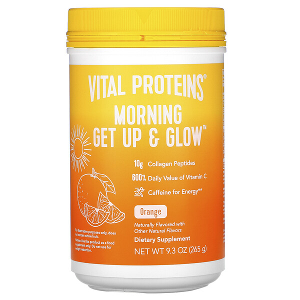 Morning Get Up & Glow, Orange , 9.3 oz (265 g)
