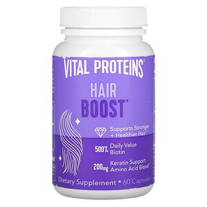 Vital Proteins, Hair Boost, 60 Capsules'