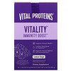 Vital Proteins, Vitality Immune Boost, Lemon Grape , 14 Packets, 0.46 oz (13 g) Each