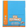 Vital Proteins, Vital Performance Protein Bar, Salty Chocolate Peanut Protein , 12 Bars, 1.94 oz (55 g) Each