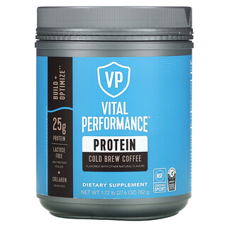 Vital Proteins, Vital Performance Protein, Cold Brew Coffee, 1.72 lb (782 g)