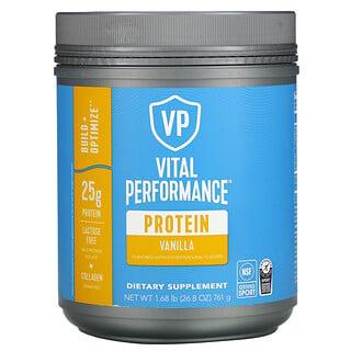 Vital Proteins, Vital Performance Protein, Vanilla, 1.68 lb ( 761 g)