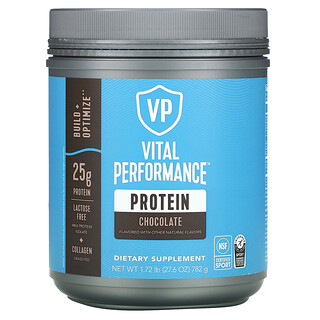 Vital Proteins, Vital Performance Protein, Chocolate, 1.72 lb (782 g)
