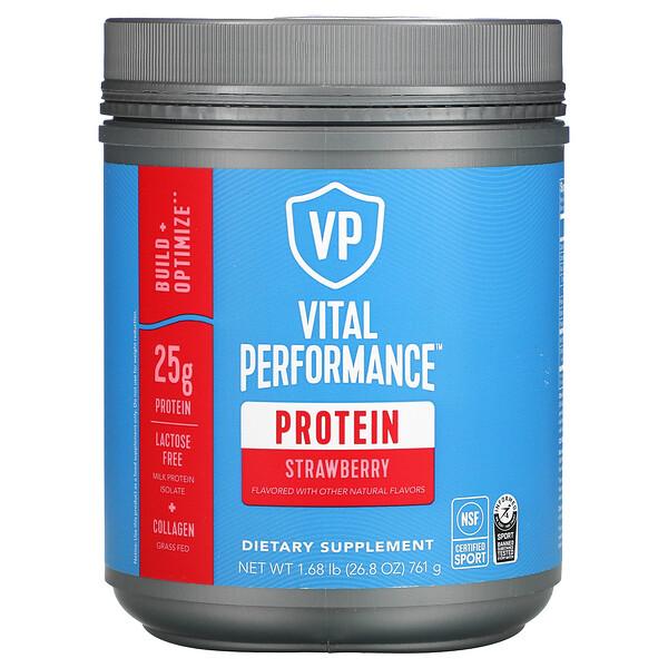 Vital Performance Protein, Strawberry, 1.68 lb (761 g)