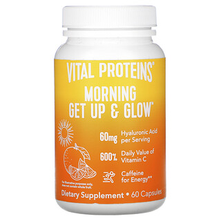 Vital Proteins, Morning Get Up & Glow , 60 Capsules