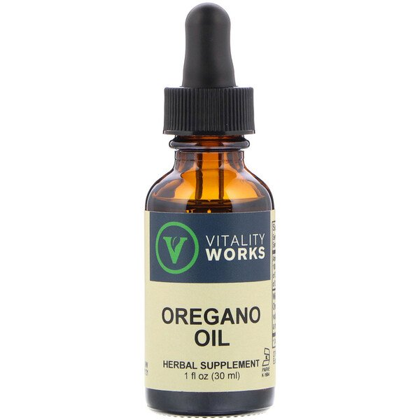 Oregano Oil, 1 fl oz (30 ml)