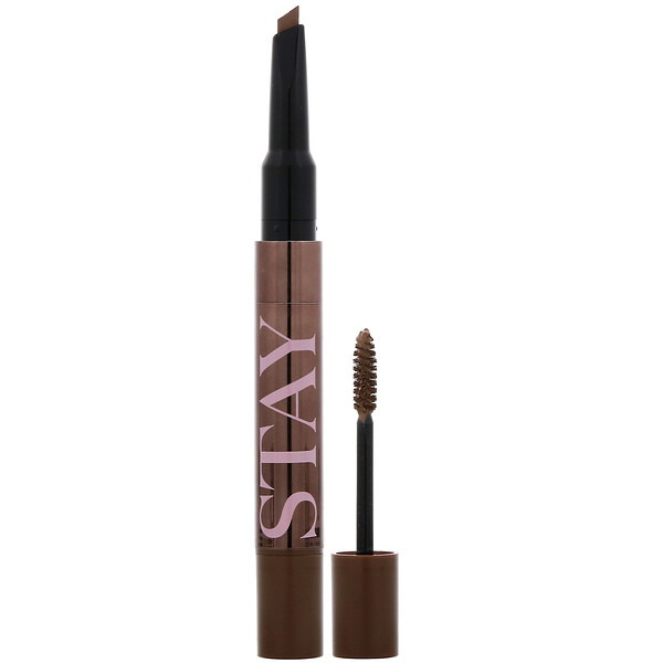 VT X BTS, Stay It Eyebrow Duo, #02 Natural Brown, 0.2 g + 2.5 ml (Discontinued Item)